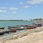 Camocim et ses bateaux colorés