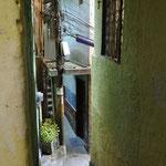 Petites rues de la Favela Vila Canoas