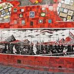 Oeuvre d'un artiste un peu fou, d'origine Chilienne