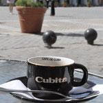 Un café sur la Plaza Vieja