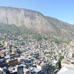 Vue sur la Favela.