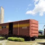 Santa Clara : Le train Blindé. C'est ici que le Ché fit vaciller l'armée régulière de Batista en s'emparant du train blindé rempli de munitions le 29/12/1958