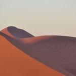 Les dunes sous les soleil