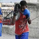 Leçon de boxe