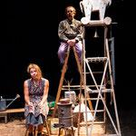 """""""Tischlein deck dich"""" - Theater Mummpitz Nürnberg - Bühnenbild M. Pfeiffer"""