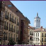 Calle Angustias y Catedral al fondo