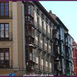 Balconada de la calle Regalado