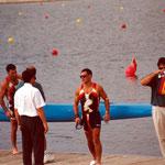 Olimpiadas Barcelona 92 . 4º puesto k2 500