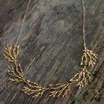 filament Halskette vergoldet