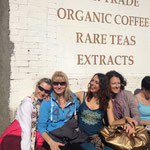 Christine May, Susanne Eichinger, Sabine Wieser and me -Yoga Studio Freising
