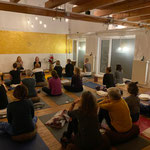Meditation in Freising mit Yoga