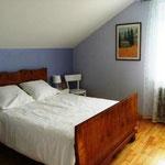 Chambre avec lit double 140x190cm
