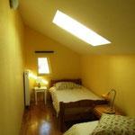 Chambre avec 2 lits simples 90x190cm