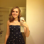 Me dressed up for the Christmas Dance :)