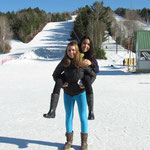Thamara and me at Ski Martock