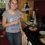 Me making Schnitzel for supper