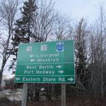 An der Ostküste von Nova Scotia