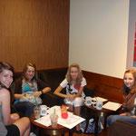 Unsere Chillecke bei Starbucks :)
