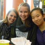 Wir 3 Mädels (v.l. Ich, Feli, Yasmin)