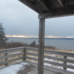 Snow over Digby Neck