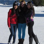 Pan, me and Thamara at Ski Martock
