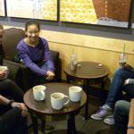 Unsere Ecke bei Starbucks