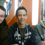 Die 3 Jungs (v.l. Jan-Paul, Jens, Martin)