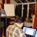 Kulturkreis Vellberg, Jahreshauptversammlung 2017, 1. Vorstand Maria Skrodsky, Schriftführer Heiner Werner