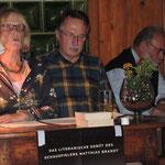 6. Literaturabend 2016, Kulturkreis Vellberg, Elisabeth Hinz