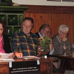 6. Literaturabend 2016, Kulturkreis Vellberg, Mara Skordsky, Heiner Werner