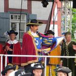 Kulturkreis Vellberg, 50. Weinbrunnenfest, Der Hohe Lügenrat