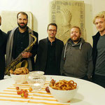 Kulturkreis Vellberg , Jazz in der Kirche, Stöckenburg Vellberg, Johannes Reinhuber Quintett, Foto Hans Kumpf