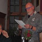 6. Literaturabend 2016, Kulturkreis Vellberg, Joachim Trick - Vortrag über den Ochsen