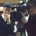 テレビ朝日の取材(1月25日夕方のJチャンネルにて放映)