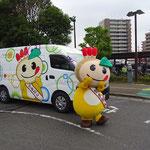 鎌ケ谷市公認キャラクター 「かまたん号」 ラッピングカー(全面貼付)