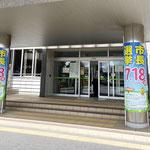 鎌ケ谷市長選挙 柱巻きサイン