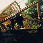 Hausbau, Wohnhaus Zimmermann 1988