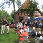 Musik im Café-Garten mit Schoolhouse Seven
