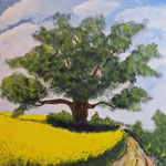 Acryl auf Boesner Malkarton 40 x 30cm