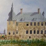 Schloss Lembeck Aquarell