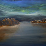 Acryl auf Leinwand-Keilrahmen 50 x 70 cm