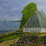 am See  Acryl auf Boesner-Malkarton 15 x 25 cm