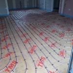 Réseau plancher chauffant sur plaque TMS 2
