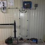 Installation de traitement des eaux au chlore