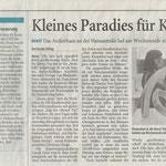 Kleines Paradies für Künstler - Westdeutsche Zeitung - 22.11.2007