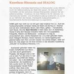 Kunsthaus Rhenania und DIALOG - rheinische ART - 10.2011