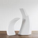 Zweiklang - 2010 - Holz / Gips - 180x160x110 cm
