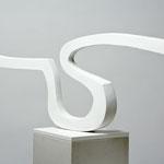 ohne Titel - 2010 - Holz / Gips - 44 (h) x 112 (b) x 15 (t) cm