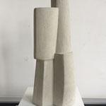 Turm I - 2011 - Steinguss - 47 (h) x 20 (b) x 15 (t) cm - Ansicht 1
