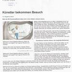 Künstler bekommen Besuch - Westdeutsche Zeitung Newsline - 17.06.2013